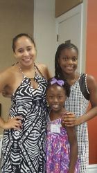 2015 Cox Family Reunion-Virginia Beach  Jade, Chloe, Dariana